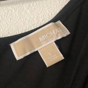 Michael Kors One Shoulder Black Dress